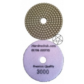 Quartz special diamond polishing pad lustre pad 3000 grit only
