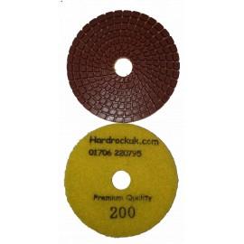 Wet Cobra Diamond polishing Pad 200 grit only