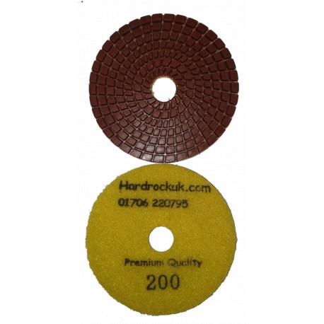200 grit diamond polishing pads Cobra