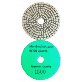 solo bagnato Cobra Diamante lucidatura Pad 1500 grit