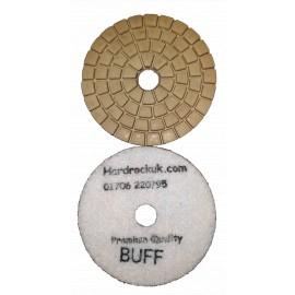 wet Cobra Diamond Polishing pads White buff grit only