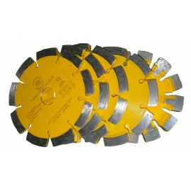125mm diamond mortar raking tuck point blades- Piranha