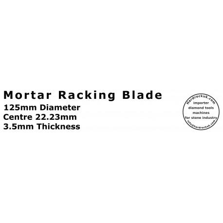 125mm diamond mortar raking tuck point blades- Piranha 3.5W