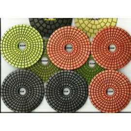wet Cobra Diamond polishing Pads full set of 10