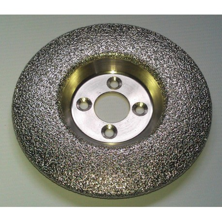 125 Vacuum Brazed Dished vanity carving blade