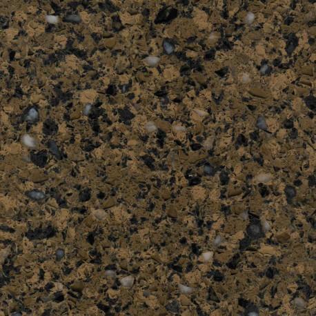 Golden Black Engineered Quartz Stone Slabs