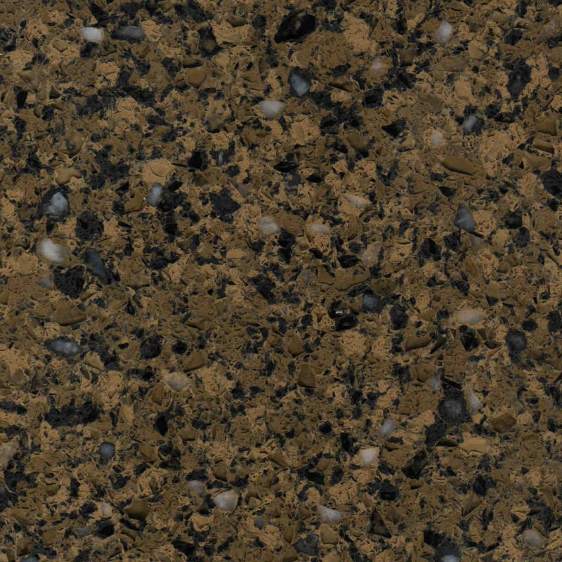 Hobnob Brown Engineered Quartz Stone