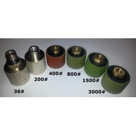 """Vacuum Brazed Drum both 1/2""""BSP & M14 fm"""