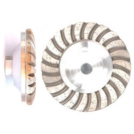 M14 turbo diamant slipe cup hjul. 36 grit