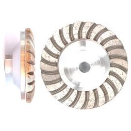 100D cupwheels corps en aluminium turbo
