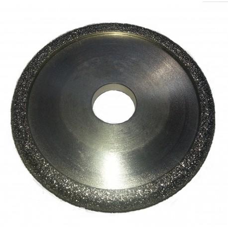 diamond drainer groove flute wheels 100mm D 12.7W