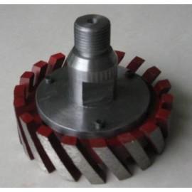 1/2 gaz encastré évier CNC outil de meulage