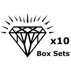 100mm Dia Dry Polishing Pads Box Sets