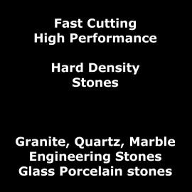Cutting Fast Hard Density Stones