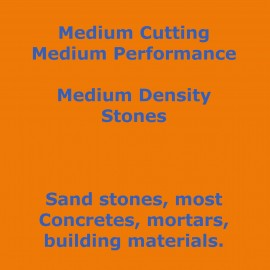 Cutting Medium Medium Density Stones